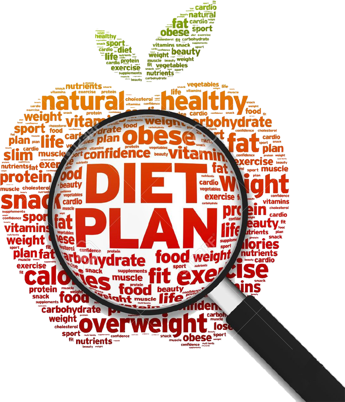how to make my own diet plan