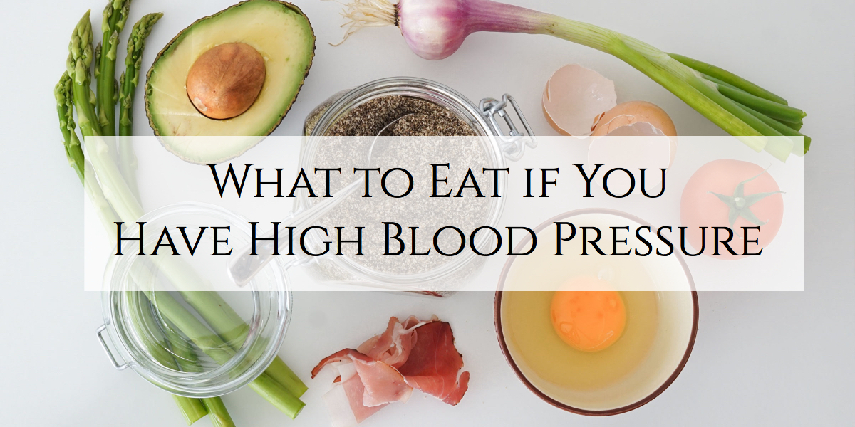 healthy diet for high blood pressure