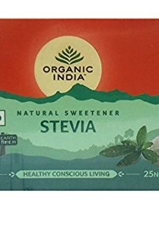 Organic Stevia 25 Sachets Pack of 3