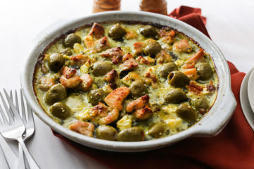 Keto Pesto Chicken Casserole